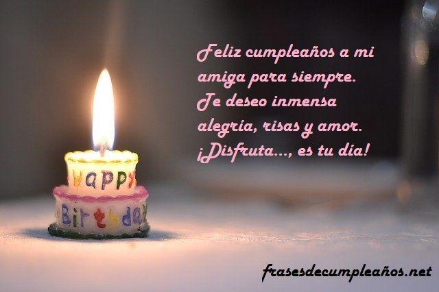 felicitacion cumpleaños para una amiga