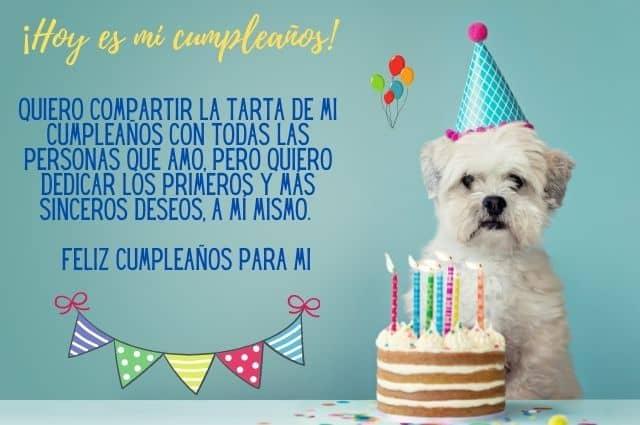 feliz cumpleaños para mi