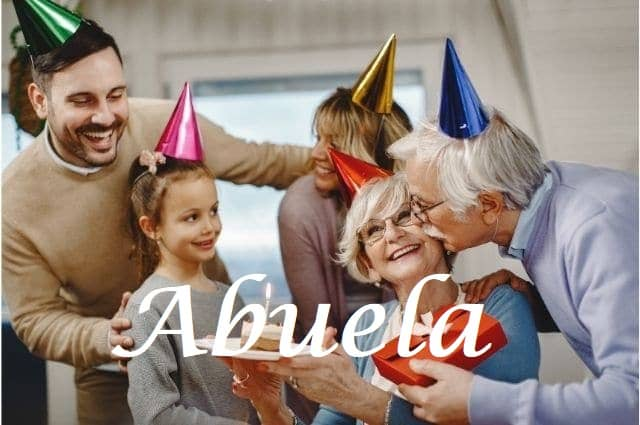 feliz cumpleaños abuela